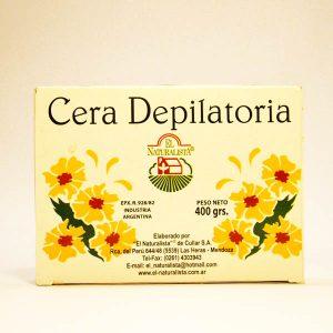 Cera depilatoria Ecologica x 400gr