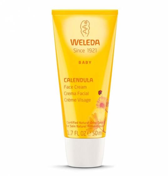 Crema facial de calendula Bebe Weleda