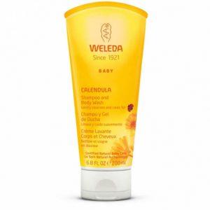Shampoo y gel de ducha Bebe Weleda