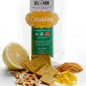 COOKIES DELI & RAW Limon y Caju x 90gr