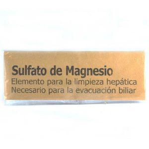 Sulfato de magnesio (p/limpieza hepatica) 4 dosis