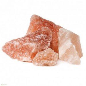Sal rosa del Himalaya en roca x 250gr