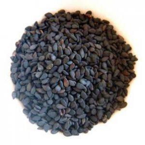 Semillas de Sesamo negro x 100gr