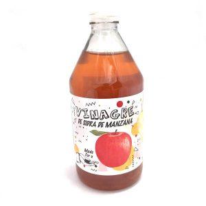 Vinagre de sidra de manzana orgánico Viva la Raw