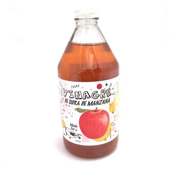 Sidra de manzana organico