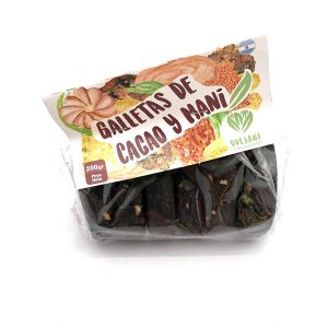 Galletas de Cacao y Mani