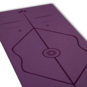 Yoga Mat Sukha - Superior c/ alineación VIOLETA