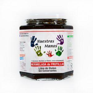 Mermelada Organica de Frutilla Nuestras Manos x 400gr