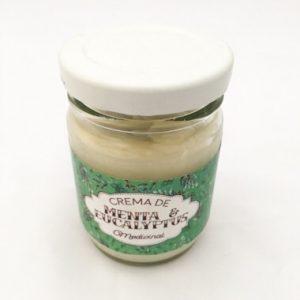 Crema Medicinal de Menta y Eucalipto x 90cc