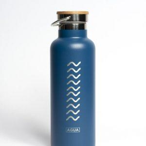 Botella de agua térmica Meraki - Agua