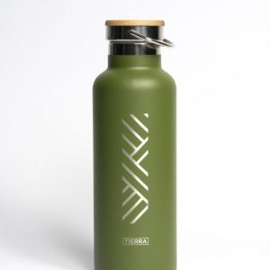 Botella de agua térmica Meraki - Tierra