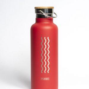 Botella de agua térmica Meraki - Fuego