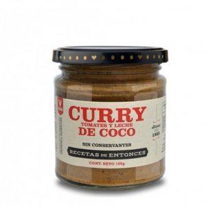 Curry de Tomates y leche de coco x 200gr