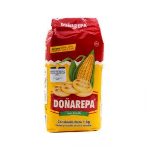 Harina de Maiz Amarillo Precocido DOÑAREPA x 1 kg