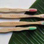 cepillo de bambu