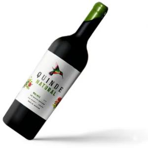 Vino Quinde Malbec Natural (sin sulfitos)