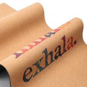 Yoga Mat Sukha - Corcho Inhala Exhala